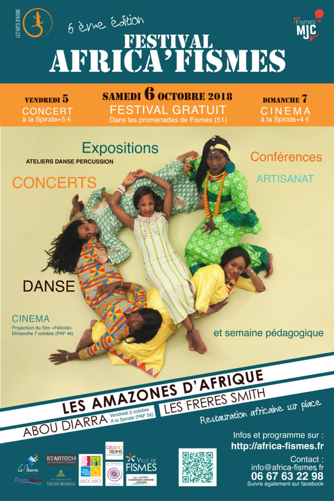 affiche Africa'Fismes 2018